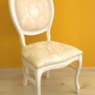 Chair OVALINO STEJAR ALB
